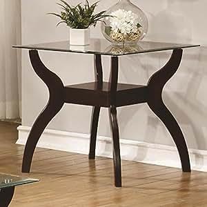 Amazon.com: Posavasos muebles para el hogar 704627 mesa ...