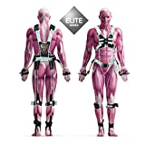 MASS SUIT Elite Series by Juke Performance - Professional grade athletic training Suit - Full body resistance exercise equipment - Athletic sports system for Football, Basketball, MMA, Boxing & Soccer