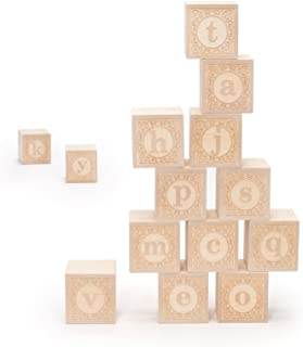 product image for Uncle Goose Lowercase Alphablank Blocks - Made in The USA