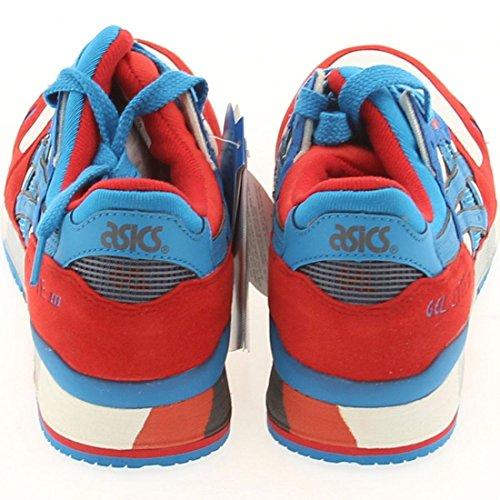 Asics Gel-lyte Iii Sneaker Para Hombre Blanco / Azul Direccional