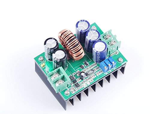 super power constant voltage constant current module/solar boost controller/battery charging module 12V/24V/36V/48V/60V/72V DC 10V-60V to 12V-80V Step Up Power Supply ()