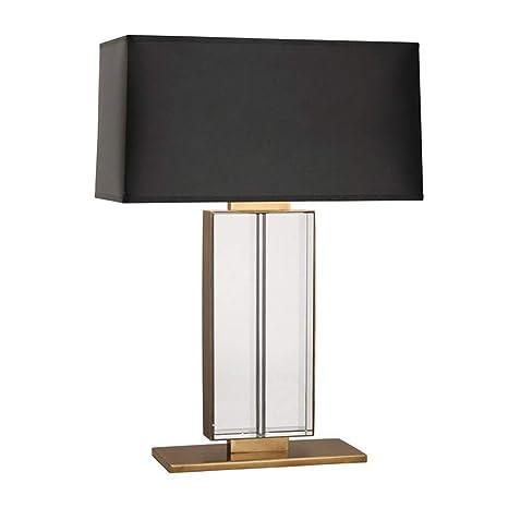 Base Per Tavolo Di Cristallo.Moderna Lampada Da Comodino In Vetro Trasparente K9 Di Cristallo