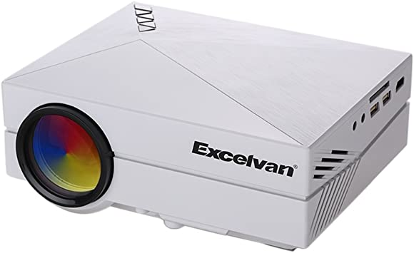 Excelvan GM60 - LED Portatil Mini Proyector 1080P (1000 Lumenes ...