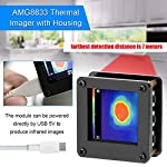 AMG8833 IR 88 Infrared Thermal Imager Array Temperature Sensor 7M Farthest Detection Distance with Housing