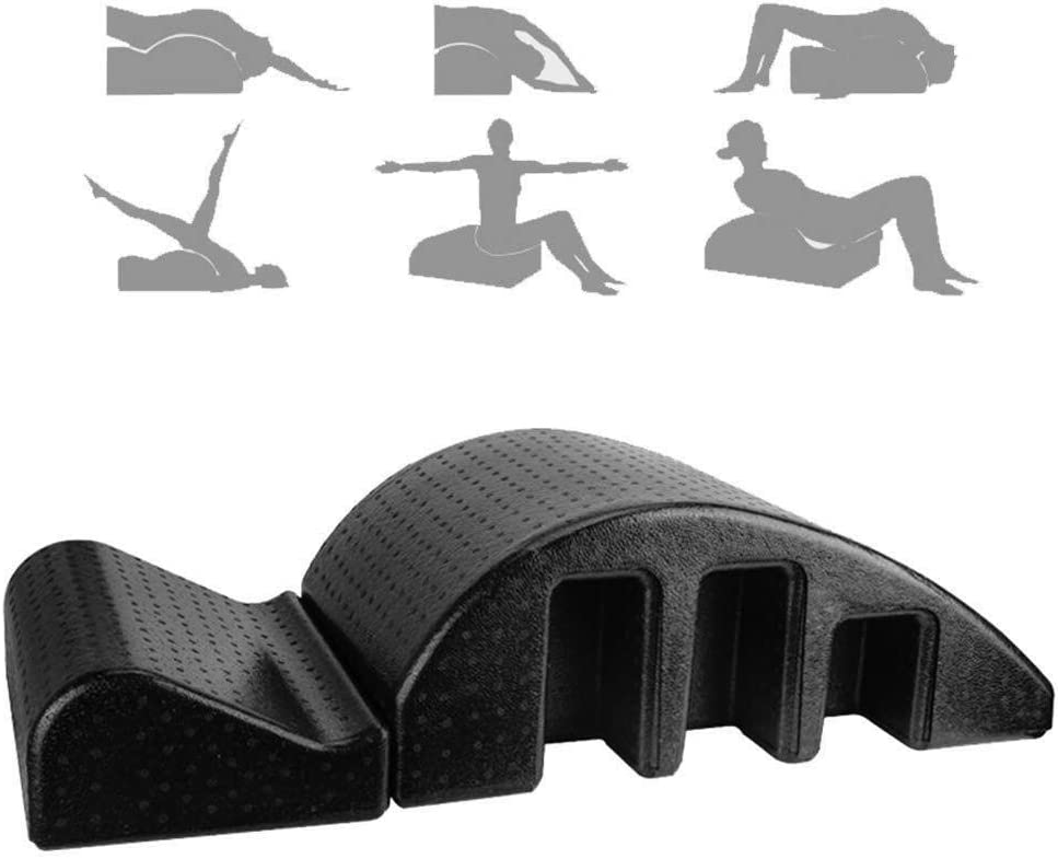 Columna vertebral órtesis ortopédica mesa de masaje de yoga multifuncional sello silenciador ortesis cirugía de columna vertebral cifosis enderezador Fitness/Pilates/Soporte de Columna