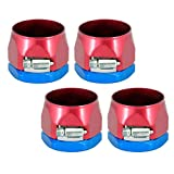 Spectre Performance 5161 Red/Blue 1-1/2-Inch Magna-Clamp Refill, Pack of 4