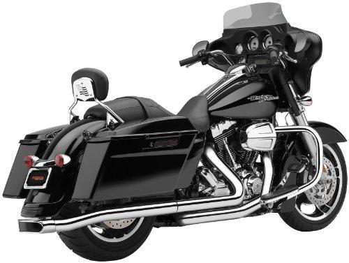 Cobra Exhaust Harley (Cobra Center-Pro Slip-On Muffler for Harley Davidson 2009-13 FLH, FLT models)