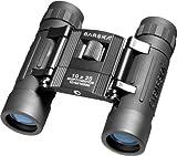 BARSKA Lucid View 10x25 Compact Binoculars (Blue Lens)