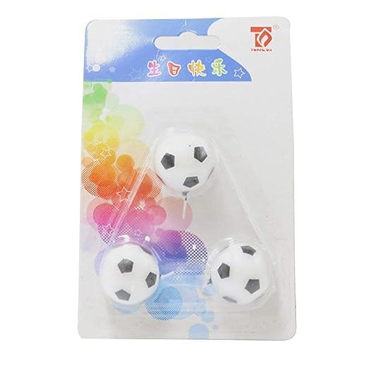 AIkong Velas de fútbol para Fiesta de cumpleaños ...