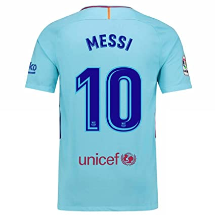 brand new cc49a 351bd Buy Marex Barcelona Away Sky Blue Messi Football Jersey for ...