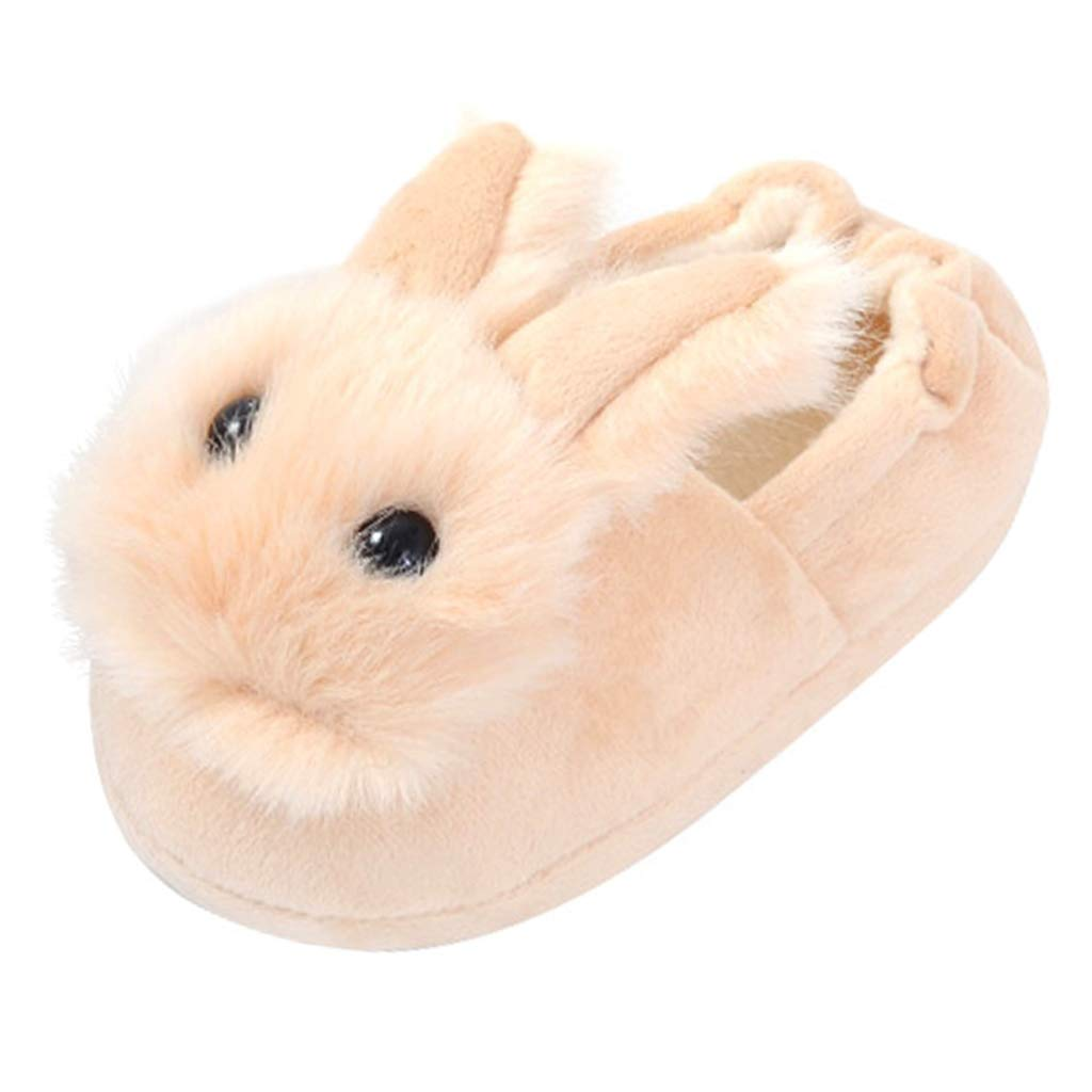 Annnowl Girls Slippers Winter Warm Shoes for Toddlers Little Kids