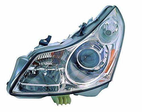 For Infiniti G35 07 08 G37 09 Sedan Xenon Without Technology Pkg Head Light Lh