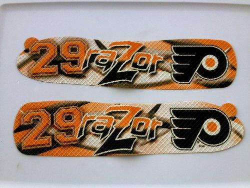 NHL Philadelphia Flyers Blade Tape Goalie Ray Emery Razor 29