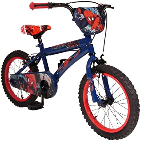 Universal Ultimate Spiderman - Bicicleta Infantil para niño, 3-5 ...