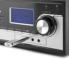 Auna Blackwood 2019 Edition Tocadiscos estéreo: Amazon.es ...