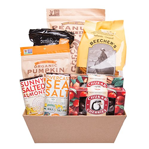 Snacks and Sweets Deluxe Gift Basket