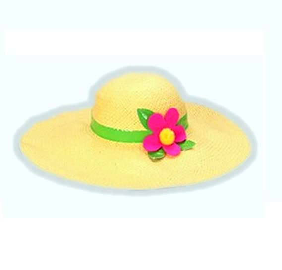 Image Unavailable. Image not available for. Color  Princess Paradise Flower Hippie  Girl Floppy Hat ... 5335bc3d0629