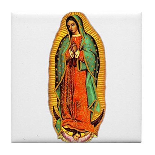 (CafePress - Mary - Virgin of Guadalupe Tile Coaster - Tile Coaster, Drink Coaster, Small Trivet)
