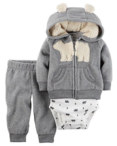 carters-baby-boys-cardigan-sets-121g776-heather-grey-polar-bear-6m