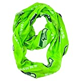 NFL Seattle Seahawks  Sheer Infinity Scarf