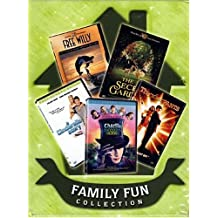 Family Fun Collection (Boxset) Charlie and The chocolate Factory / Thunderpants /The Secret Garden / Free Willy -10th Anniversary Special Edition / A Cinderella Story