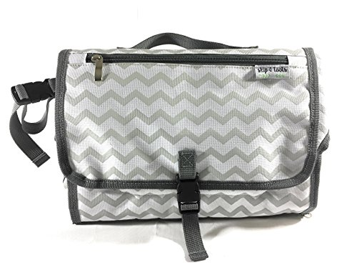 Skip & Toots Portable Changing Pad- Portable Changing Station- Diaper Bag