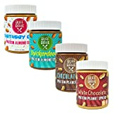 Protein Almond Butter & Peanut Butter – Nut Butter Spreads with 11 Grams of Whey Protein, Gluten Free, Non-GMO (Birthday Cake Spread, Snickerdoodle Spread, Chocolate Spread, White Choc Spread 13 oz) Review