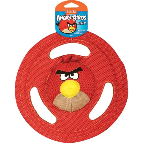 Angry Birds Tuff Stuff Flyer Dog Toy in Multi