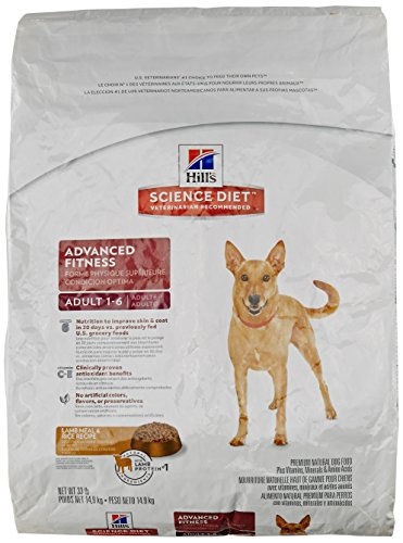 Hill's Science Diet Adult Lamb Meal & Rice Recipe Dry Dog Food, (Brown Diet Dog Food)