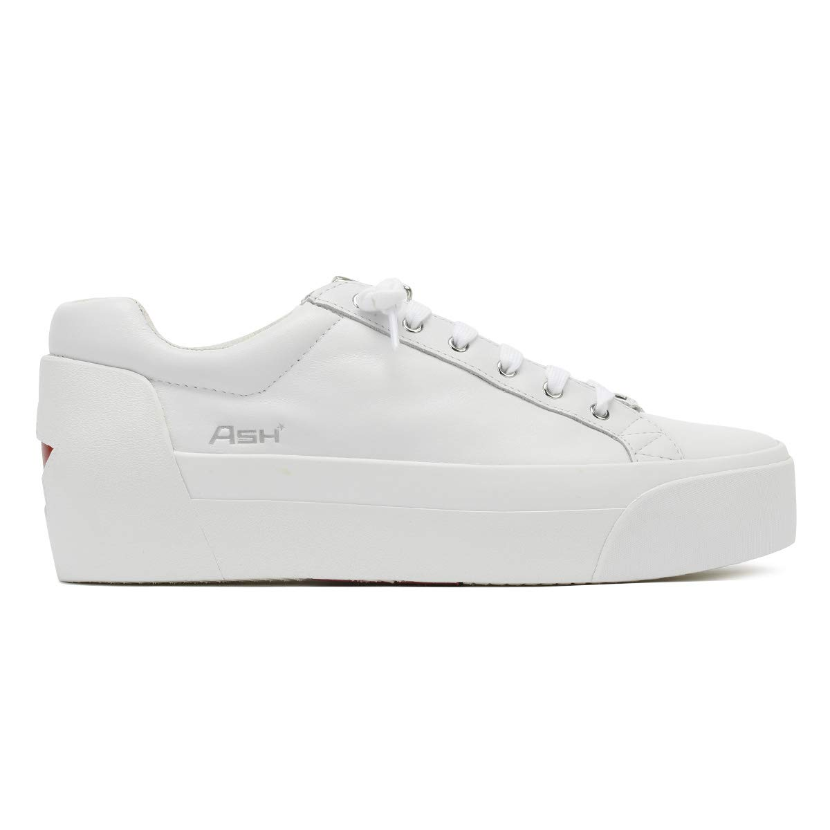 469ae30b402 Ash Womens White Red Buzz Platform Trainers  Amazon.co.uk  Shoes   Bags