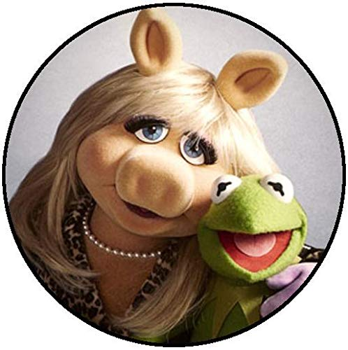Disney The Muppets Kermit The Frog Miss Piggy Edible Cake Topper Image ABPID12007 - 1/2 sheet