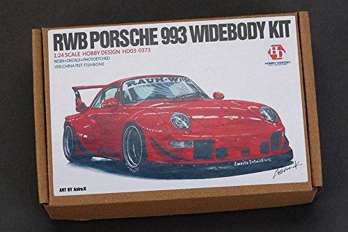 Hobby Design 1/24 Rwb Porsche 993 wide-body kit HD03-0373