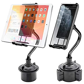Cellet Tablet & Smartphone Cup Holder Mount with Flexible Neck Compatible for Apple iPad Mini 4/Air2/Pro iPhone XS/XS Max/XR/X/8 Samsung Tab S4/3 Note 9/8 LG GPad F2 8.0 Amazon Kindle Fire HD 8/10 Accesorios Accesorios de Autos Celulares y Accesorios Electrónicos Soportes para Auto