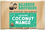 Cheap Bearded Brothers Coconut Mango Energy Bar – Paleo, Gluten Free, Soy Free, Vegan, Non-GMO, Organic, Low Glycemic, Great source of protein and fiber (12-Pack)
