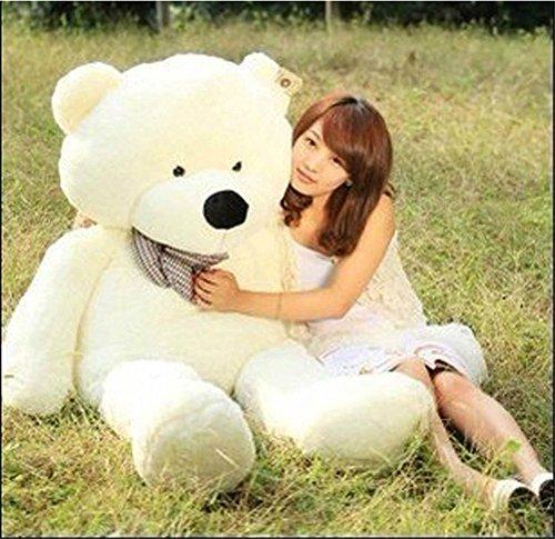 Stuffed Animal Teddy Bear Plush Soft Toy 160CM Huge Soft Toy White - 3
