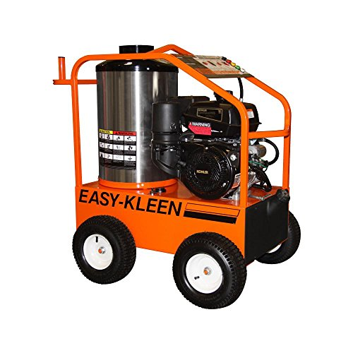 EASY-KLEEN PRESSURE SYSTEMS LTD Easy-Kleen Commercial 4000 PSI 3.5 GPM Gas Driven Hot Water Pressure Washer with Kohler Engine & General Pump 110/120V Burner