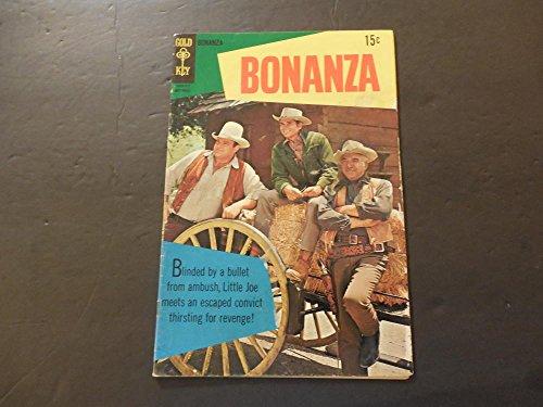 Fenton Key - Bonanza #30 Nov 1968 Silver Age Gold Key Western Photo Cover Comic