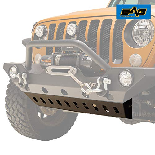 EAG Sport Bumper Lower Skid Plate for EAG Bumper JJLFB015 Fit for 18-19 Jeep Wrangler JL