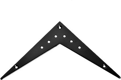 Kmise a3148 1 pieza BN-01 negro Flying V Guitarra Puente Cordal ...