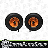 (2) Scag Wheel and Tire Assemblies Smooth 13x6.50-6 Replaces 482504 483050 9278