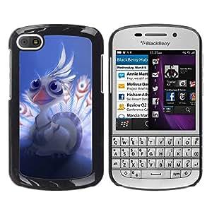 LauStart ( Beb¨¦ lindo del ?guila ) BlackBerry Q10 Arte & dise?o pl¨¢stico duro Fundas Cover Cubre Hard Case Cover para
