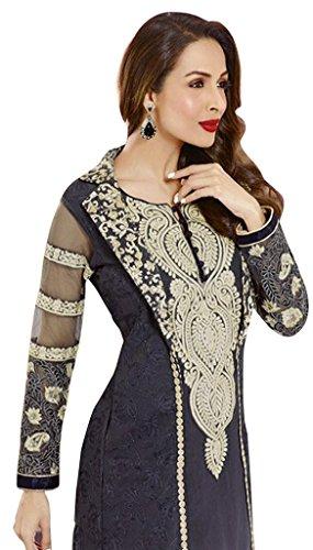 Mallaika Unstitched Sarees Eid Arora Salwar diva Suit Bollywood Jay 6fxqg6