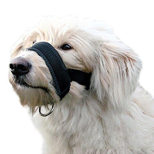 Alfie Pet by Petoga Couture - Jaimy Adjustable Quick Fit Nylon Muzzle - Color: Black, Size: XXL by Alfie (Image #8)