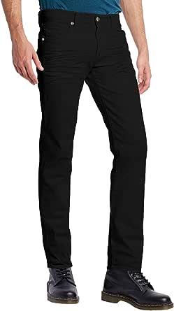 ETHANOL Mens Slim Super Stretch Motion Denim Five Pocket Jean