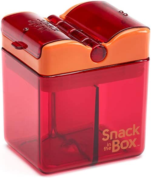 Precidio Design 1901PR Snack in The Box Eco-Friendly Reusable Snack Box Container Purple