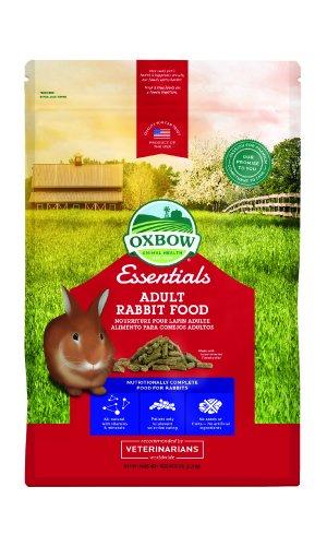 Oxbow Bunny Basics Adult Rabbit Food (Timothy Based), 5-Pound Bag (Pellets Food Rabbit)