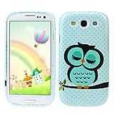 Changeshopping Cute Owl Design Soft TPU Case Cover for Samsung Galaxy S3 III i9300
