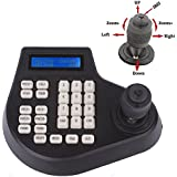 Efreecity® CCTV Joystick Keyboard Controller LCD Display for PTZ Speed Dome Camera Control (4D joystick controller)