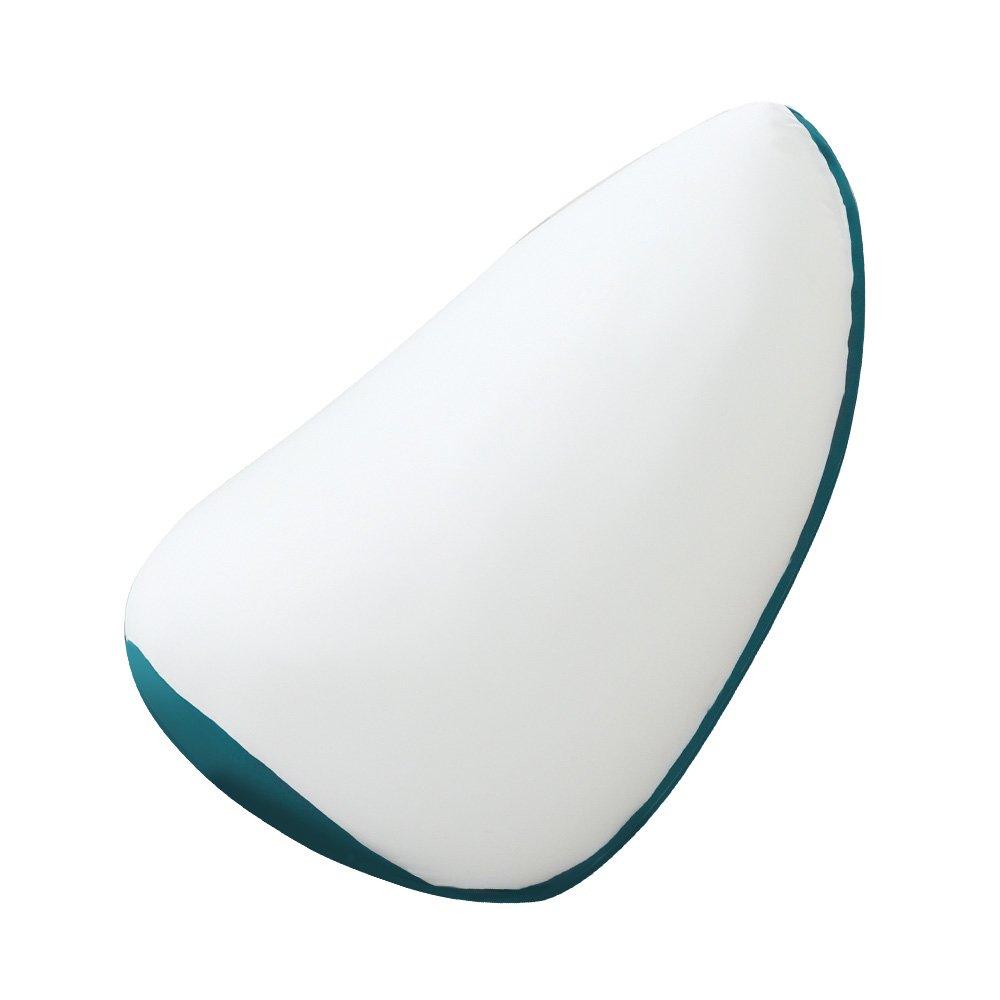 ジャンボビーズクッション【Ovo-オーヴォ-】(伸縮 しっかり生地 日本製)ターコイズブルー B01M15IPHS  ターコイズブルー