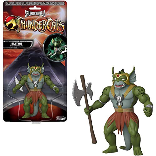 Funko Slithe: Thundercats x Savage World Mini Action Figure + 1 American Cartoon Themed Trading Card Bundle [30154]